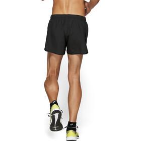 asics Silver Split Shorts Heren, zwart